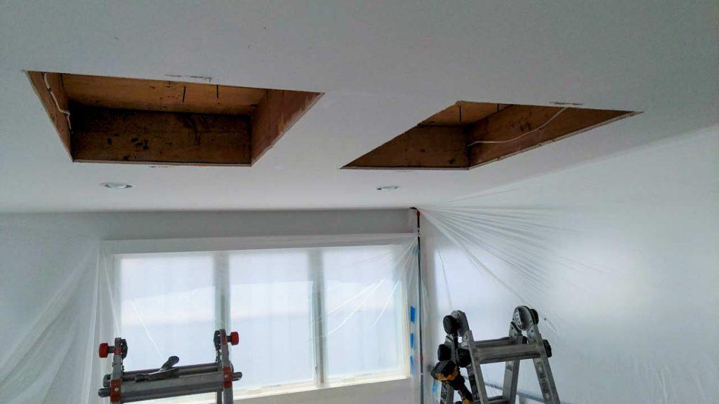 VELUX VCS skylight installation 21200-5
