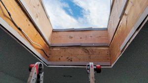 VELUX VCS skylight installation 21200-7