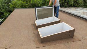 VELUX VCS skylight installation 21200-9